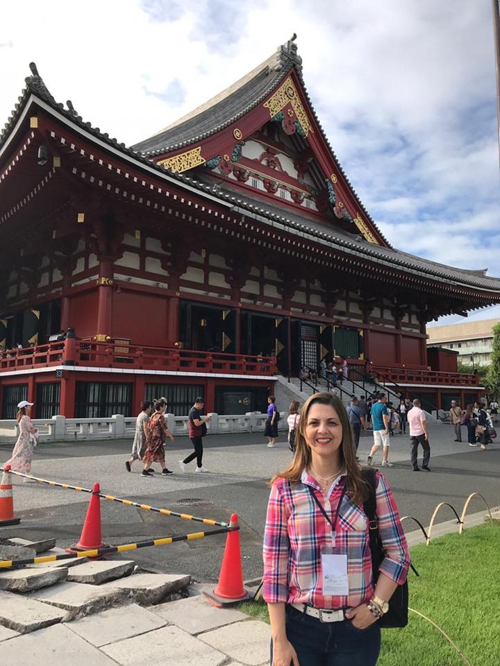 NUESTRA RECTORA EN JAPÓN