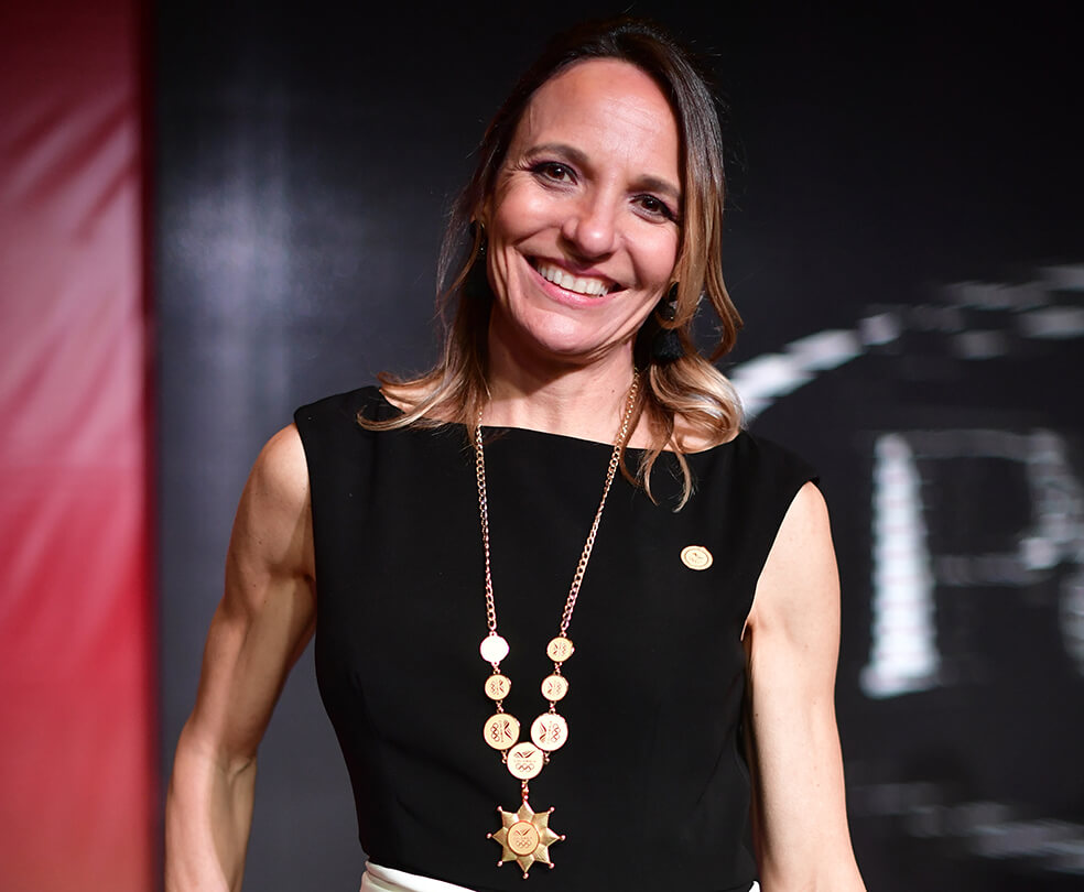 Ximena Restrepo, vicepresidenta de la World Athletics